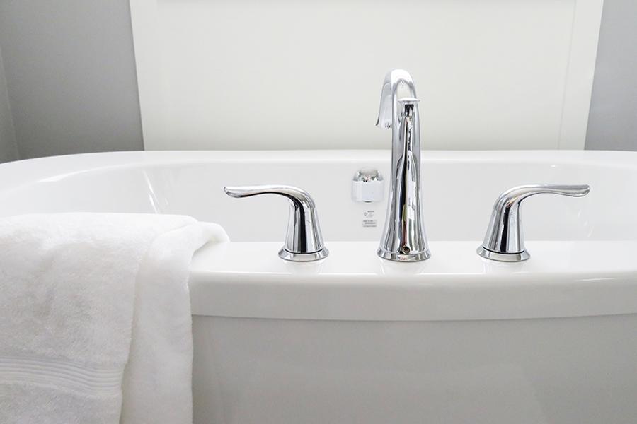Badezimmer Komplettsanierung Waschbecken